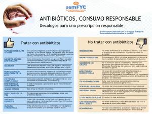 DECÁLOGO ANTIBIÓTICOS MÉDICOS PROFESIONAL SEMFYC