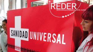 Informe REDER: Fragmento portada del infrome de REDER correspondiente a septiembre de 2017