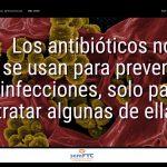 #DiaAntibioticos19: Los antibióticos no se usan para prevenir infecciones, solo para tratar algunas de ellas.