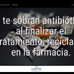 #DiaAntibioticos19: Si te sobran antibióticos al finalizar el tratamiento, recíclalos en la farmacia.