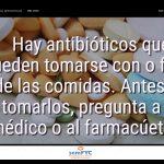 #DiaAntibioticos19: Hay antibióticos que pueden tomarse con o fuera de las comidas. Antes de tomarlos, pregunta a tu médico o al farmacúetico.