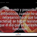 #DiaAntibioticos19: Consumir y prescribir antibióticos cuando no son necesarios hace que las bacterias se hagan resistentes y que el día que se necesiten no funcionen.