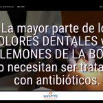 #DiaAntibioticos19: La mayor parte de los DOLORES DENTALES y los FLEMONES DE LA BOCA, no necesitan ser tratados con antibióticos.