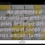 #DiaAntibioticos19: No abandones el tratamiento con antibióticos antes de tiempo, debes mantenerlo el tiempo que te haya indicado tu médico.
