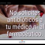 #DiaAntibioticos19: No solicites antibióticos a tu médico ni al farmacéutico.